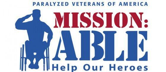 Paralyzed Veterans of America- Mission: Able Logo
