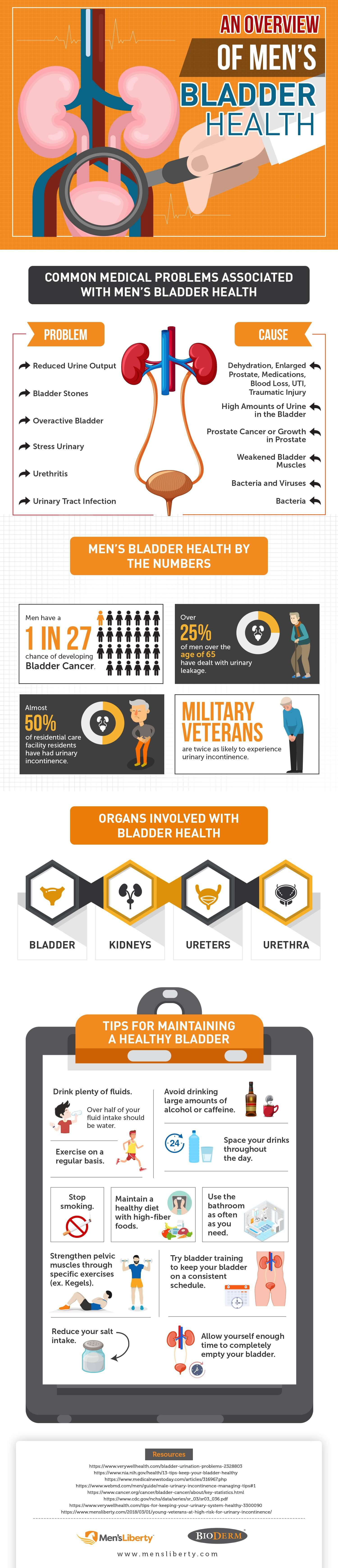 An Overview of Mens Bladder Health